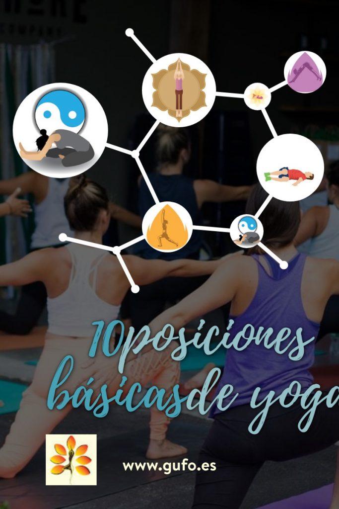 10 posiciones básicas de yoga